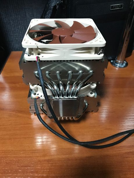 Топ кулер Noctua D14 Intel AMD 775 1150 1151 1155 1200 AM2 AM3 AM4