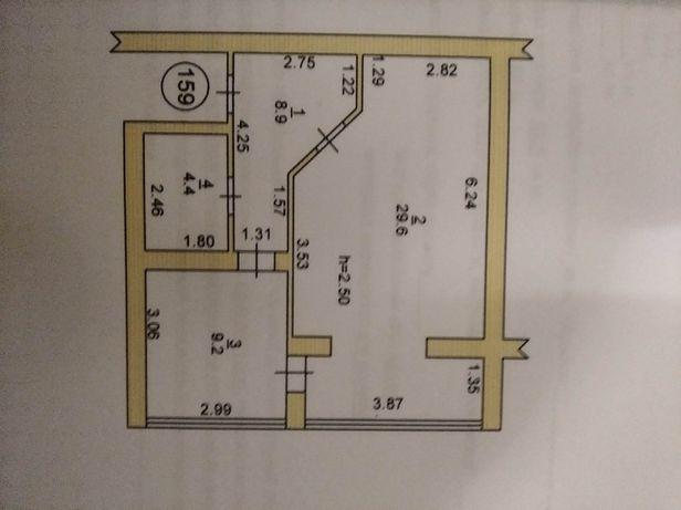 Продам однокімнатну квартиру в новобудовіGLM
