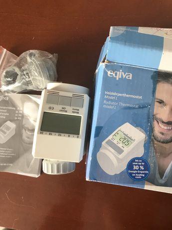 Zawór grzejnikowy Eqiva elektroniczny