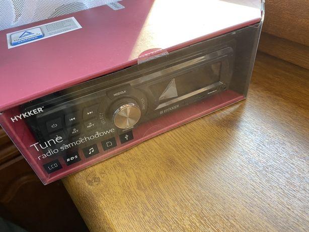 Radio samochodowe Hykker DX-AR-333 FM MP3 USB AUX microSD