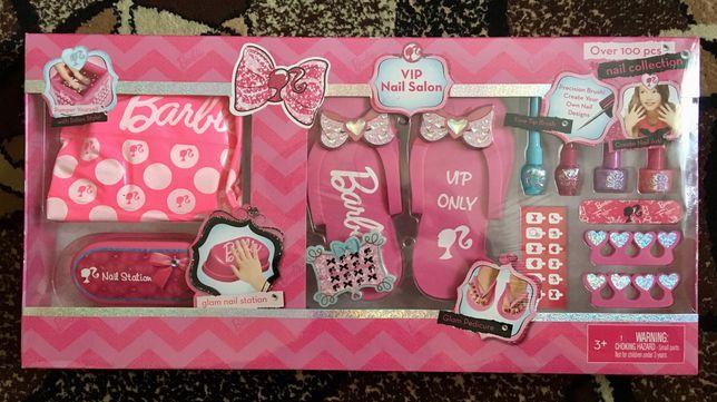 Nowy Barbie zestaw VIP nail salon