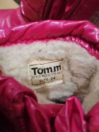 Сапожки для девочки Tom. m