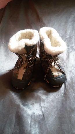 Сапоги зимние демар,для ребенка
