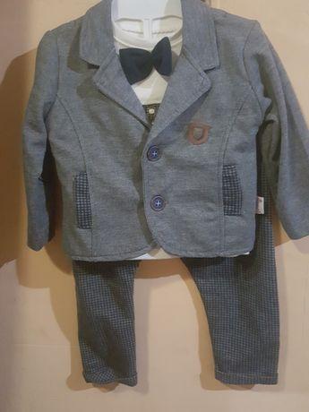 Костюм брючный на 1 годик, костюм 12 мес, 80-86 см.