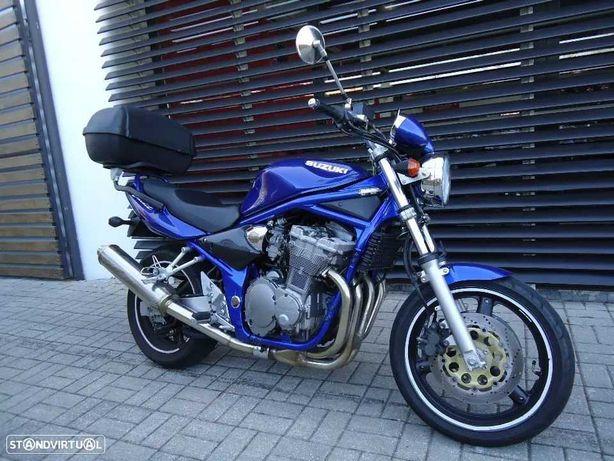 suporte TOP CASE GIVI  e top case para Suzuki 600 Bandit