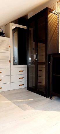 IKEA HEMNES witryna szklane drzwi 90x190