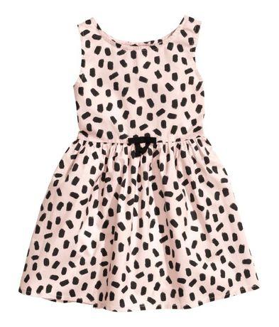 Платье для девочки НМ 4-6 лет
