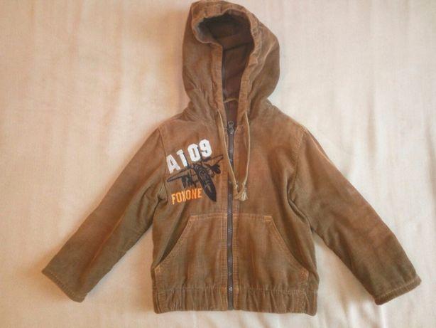 Куртка вельветовая на рост 92см Б/У