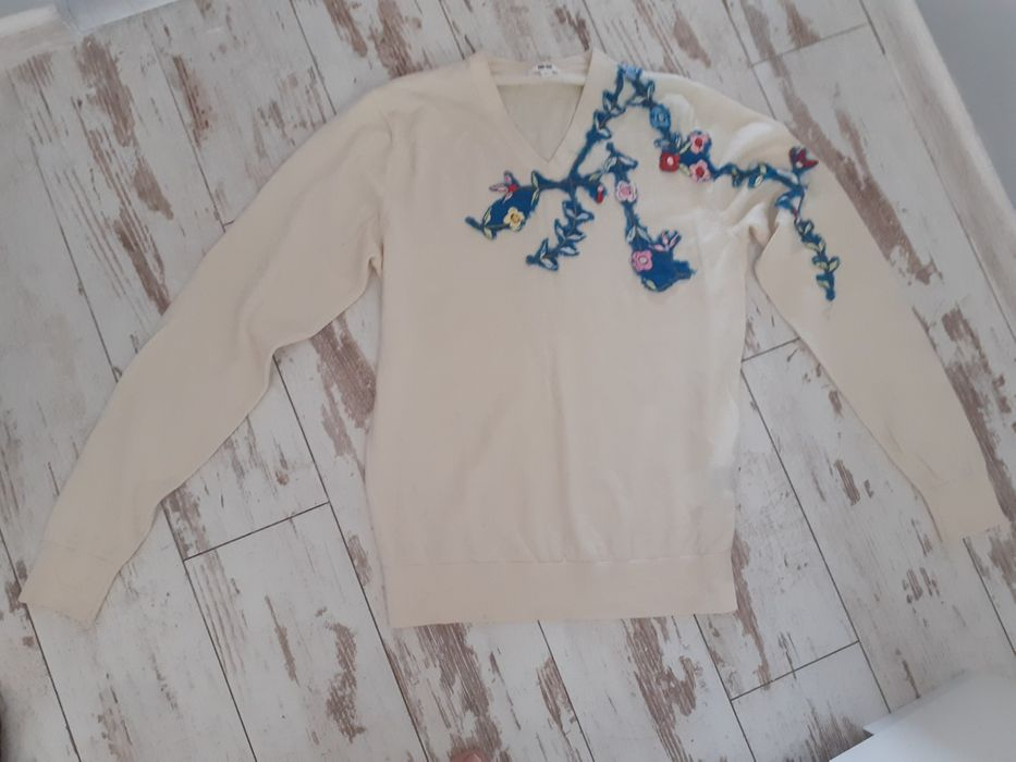 Sweter   uniqlo 100% wełna okazja Świebodzice - image 1
