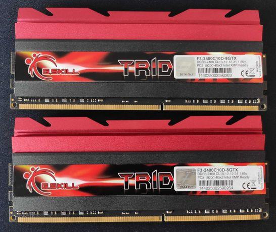 G.Skill Trident X 2x4GB 8GB 2400MHz DDR3 Memória RAM