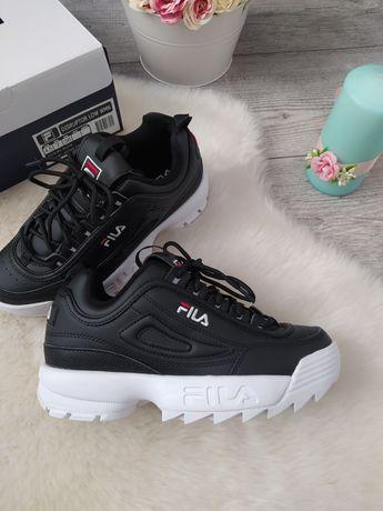 Nowe buty Fila Disruptor 2 Low czarne