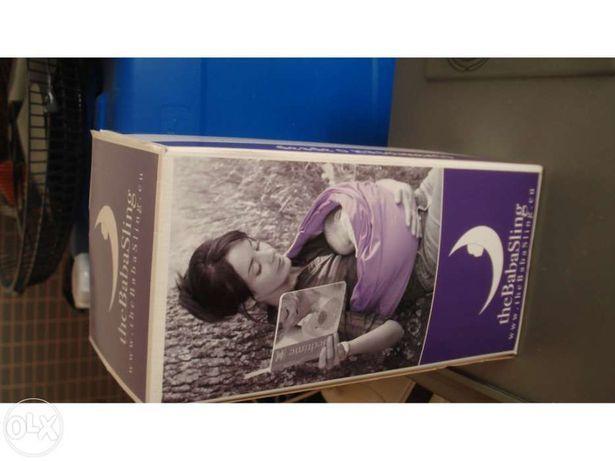 The baba sling transporte de bebé