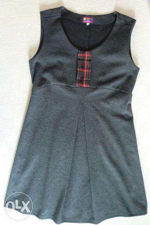 Ciążowa tunika sukienka wizytowa do biura 36 38 wiosna