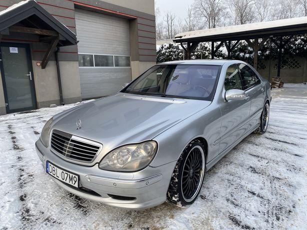 Mercedes S500 306KM + LPG * Pakiet AMG * Lodówka * Stoliki * Zamiana