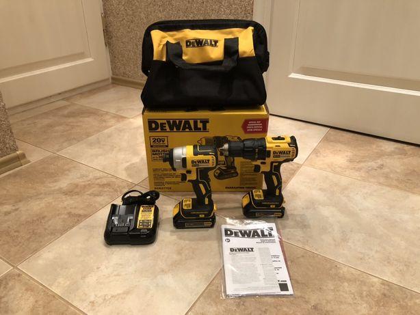 Продам оригінальний безщіточний набір Dewalt привезений з США