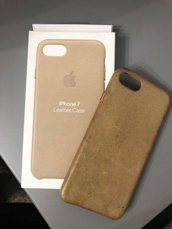 Etui skórzane leather case Iphone 7 8