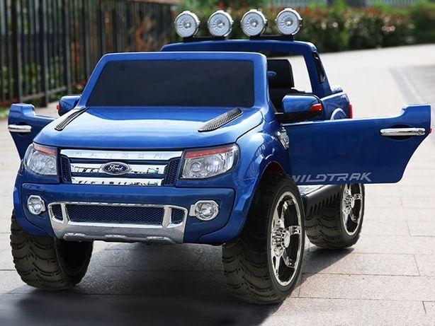 Auto Pickup FORD RANGER 2-OSOBOWY gumowe koła USB Niebieski metalik