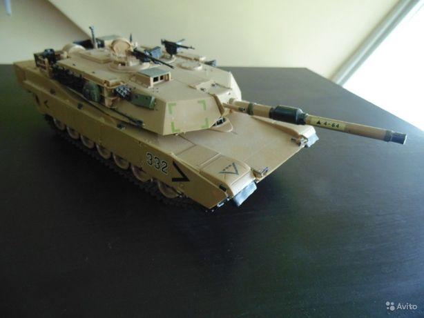 Танк масштаб 1:35 Абрамс М1 А2