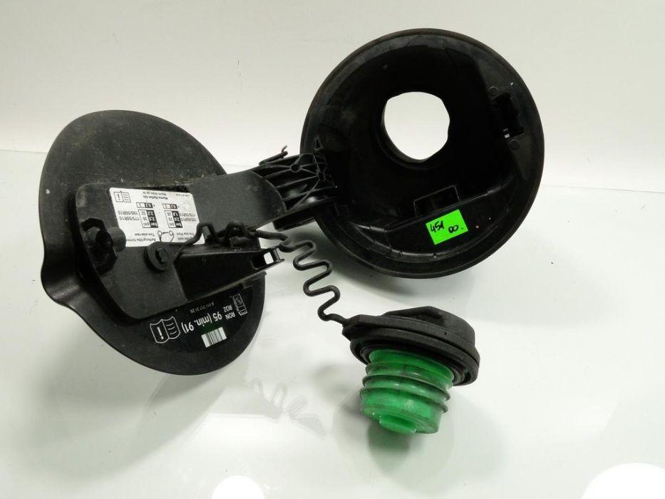 klapka wlewu Smart Fortwo 451 czarna wlew paliwa korek zamek komplet Nowa Sól - image 1