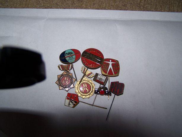 Odznaki z lat 70-ych i 80-ych(unikaty)