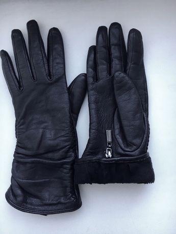Кожаные перчатки Romika