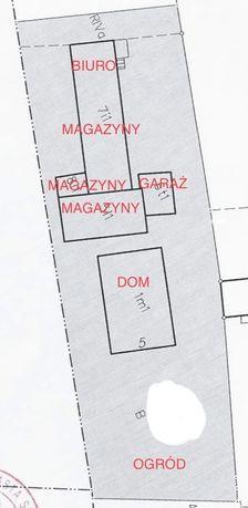 200 m2 magazynów + biuro Warszawa Włochy 10 min od centrum