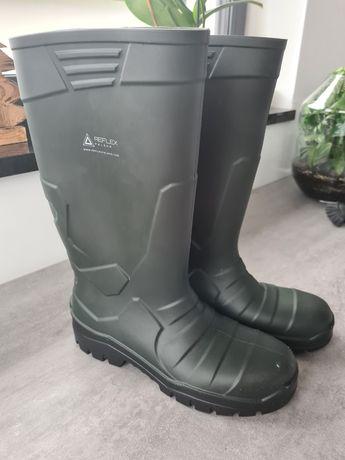 Buty robocze Gumowce Reflex Alpha 43 (10) porzadne robocze z noskami