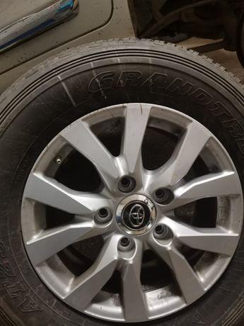 Колеса 285/60 R18 116V Dunlop Grandtrek AT25 Toyota Lc200 новые
