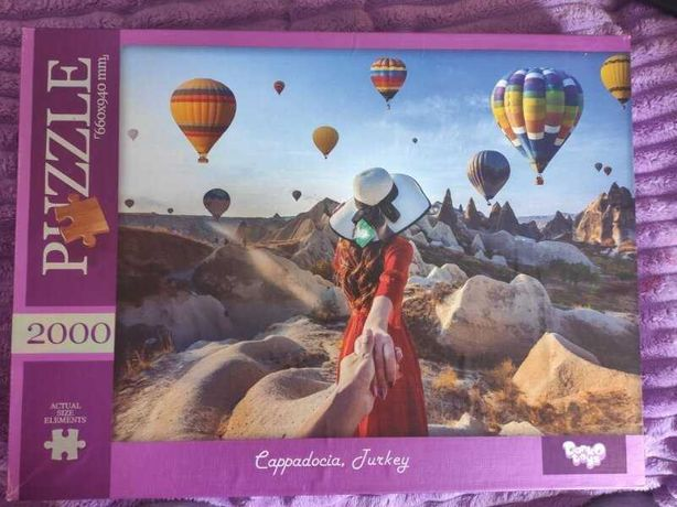 Пазлы Danko Toys 2000 шт Pazzle Cappadocia, Turkey Турция Кападокия