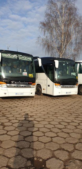 Autokary wynajem, przewóz osób, autobusy turystyczne firma Szymkar