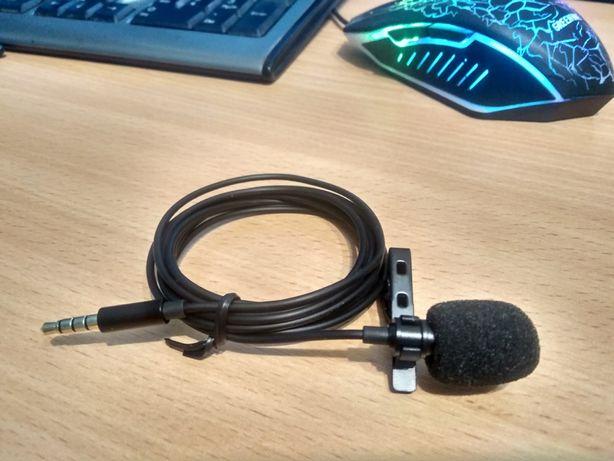 Микрофон, микрофон петличка для блогеров