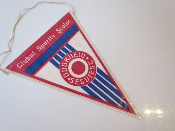 Proporczyk Szkolny Klub Sportowy Odorheiu Secuiesc Rumunia Siedmiogród