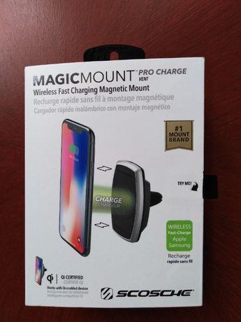 Uchwyt i ładowarka indukcyjna Scosche MagicMount Pro Charge MPQ2VP