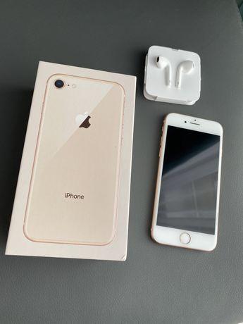 IPhone 8 64GB bez simlocka złoty jak nowy