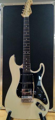 Fender Aerodyne Stratocaster HSS MIJ Strat Vintage White