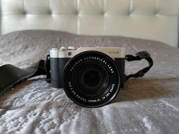 Fujifilm X-A3 + XC 16-50mm F3.5 - 5.6 OIS - Cinza