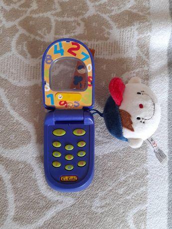 """Детский телефон с записью """"Кто звонит?"""" фирмы K`s Kids"""