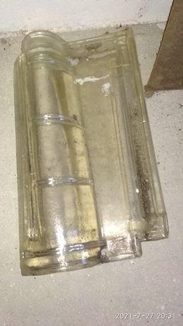 Telha Margon em vidro da fábrica de Porto de Mos