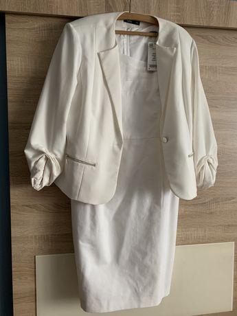 Komplet sukienka marynarka NOWE