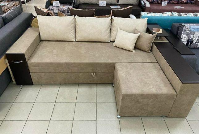 """Угловой диван """"Виктория"""" в ткани антикоготь есть в наличии"""
