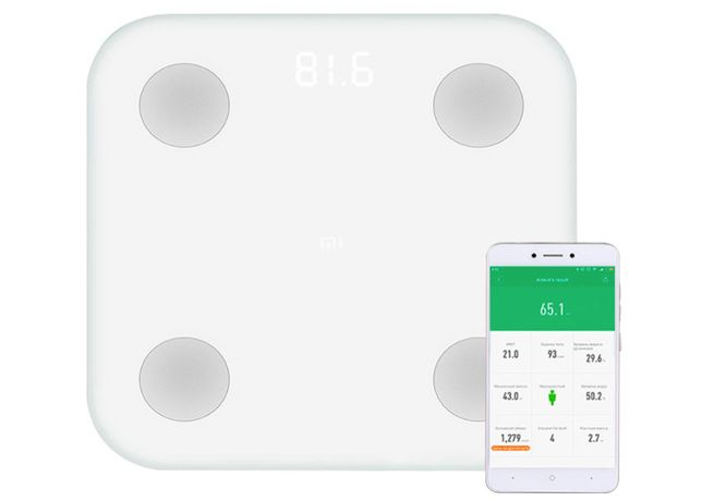 Весы Xiaomi Mi Body Composition Scale 2 - 2350 Руб