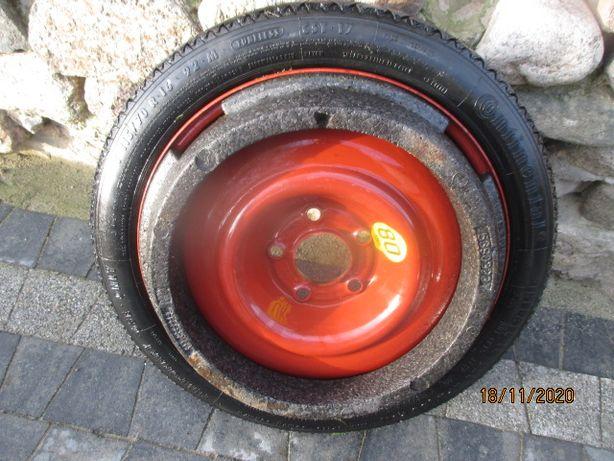 Koło dojazdowe dojazdówka SAAB 9-3 Continental 115/70R16 ET43 nowe