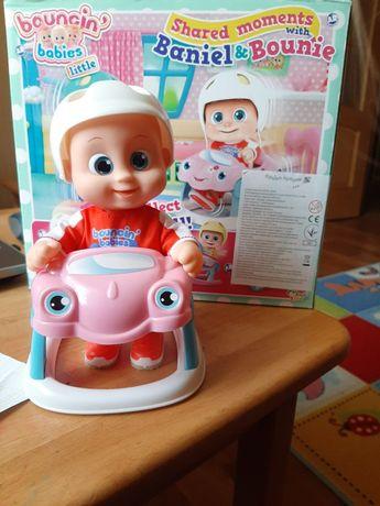 Интерактивная кукла пупс Bouncin' Babies Baniel (Бани)