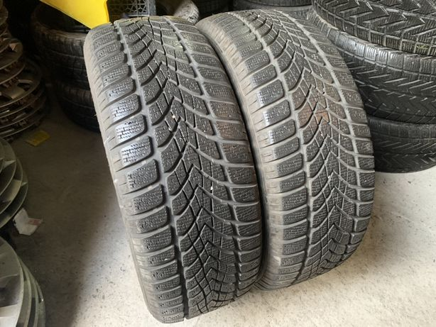 205/55 R16 Dunlop Winter Sport 4 D шины зимние бу
