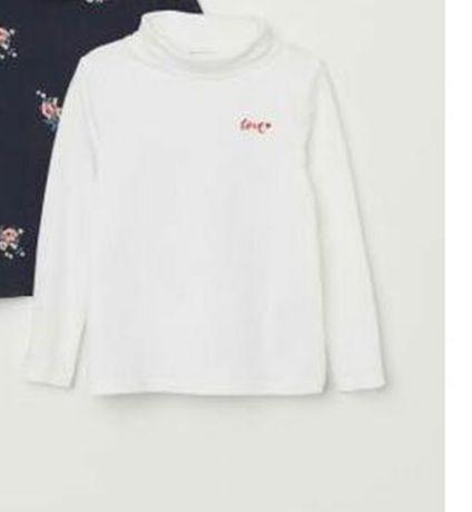 Водолазка Новая  для девочки бренд H&M