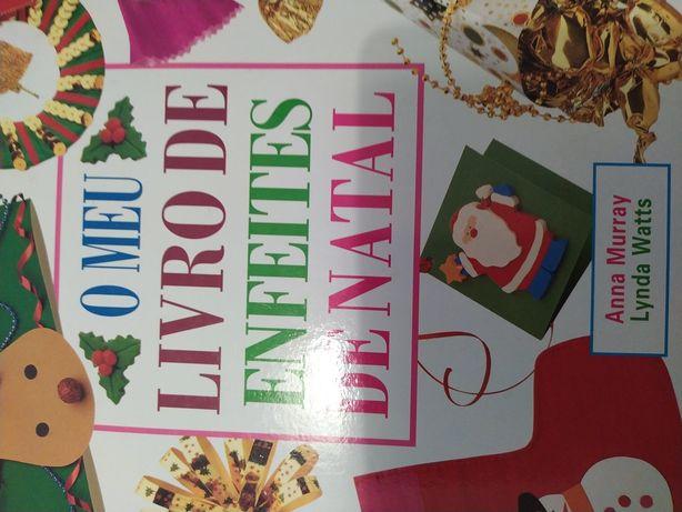Livro - O meu livro de enfeites de Natal