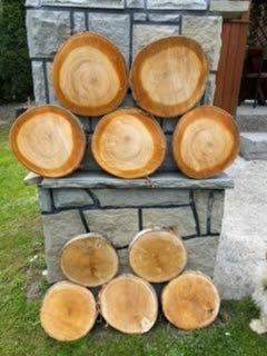 Plastry drewniane krążki różne rozmiary