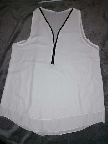 Nowa biała bluzka rozmiar L