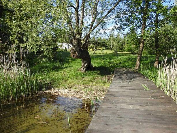Domek nad jeziorem  Nowa Wieś  k.  Brodnicy wolne-   6 .09.do 13.09.