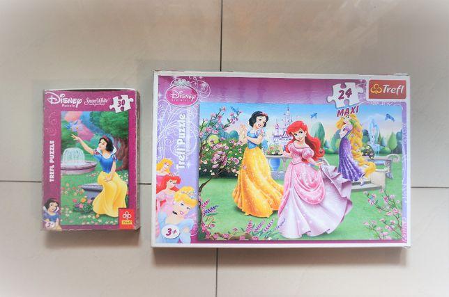Puzzle Disney Princess MAXI 24 Trefl + Trefl 30